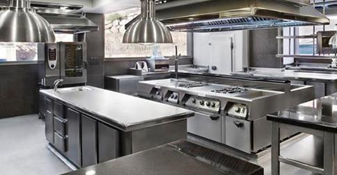 Soluci n en cocinas industriales for Material cocina industrial