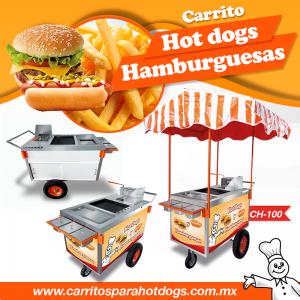 Carrito para hamburguesas