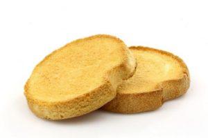 bizcochos tostados