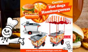 Carrito para hot dogs