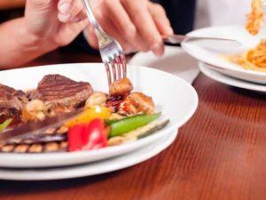 comida de restaurante