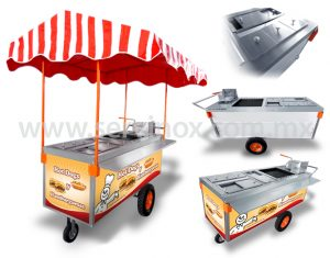 carrito de hot dogs