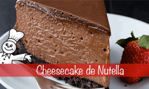 cheescake de nutella
