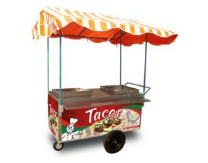 Carrito para vender tacos